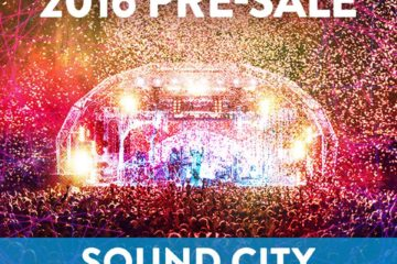 Sound City 2016 Presale