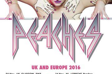 Peaches UK Tour