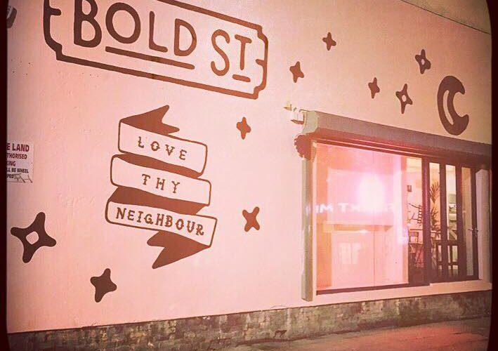 Love Thy Neighbour, Bold Street