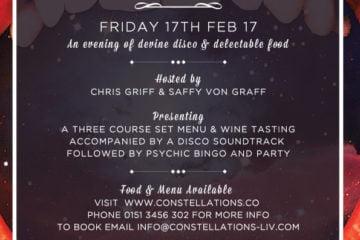 Disco & Dinner Constellations