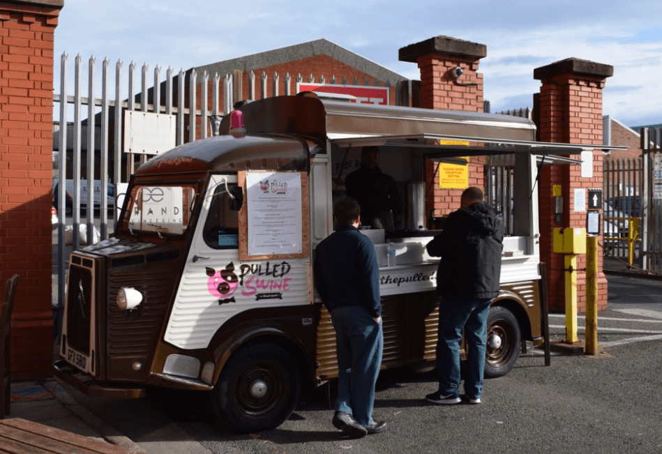 The Pulled Swine Street Food Liverpool