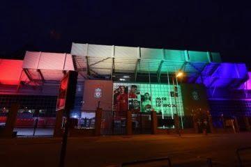 Liverpool Pride Rainbow Light Up
