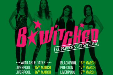 B Witched at Bongo's Bingo - tour dates 2018