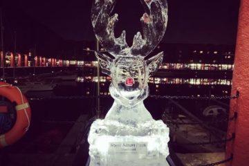 Royal Albert Dock Liverpool at Christmas