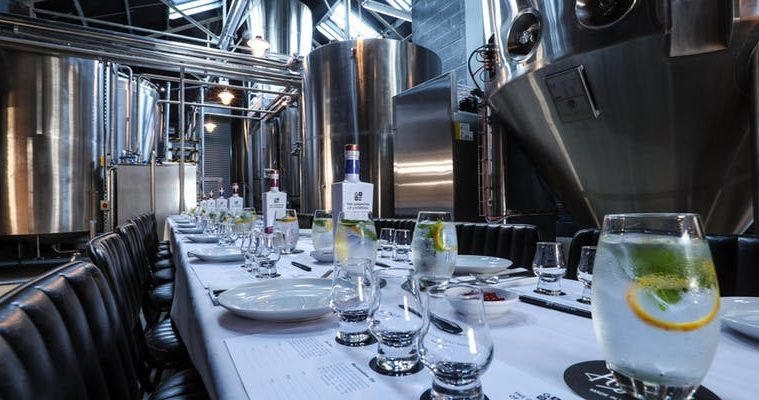 The Ginsmiths of Liverpool Distillery Experience