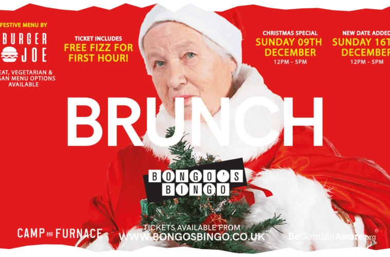 Xmas Brunch by Bongo's Bingo - Sunday 16th Dec
