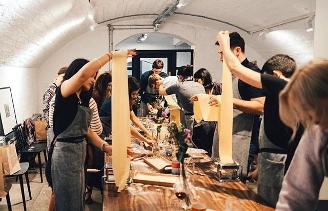 Flour will fly pasta classes Liverpool