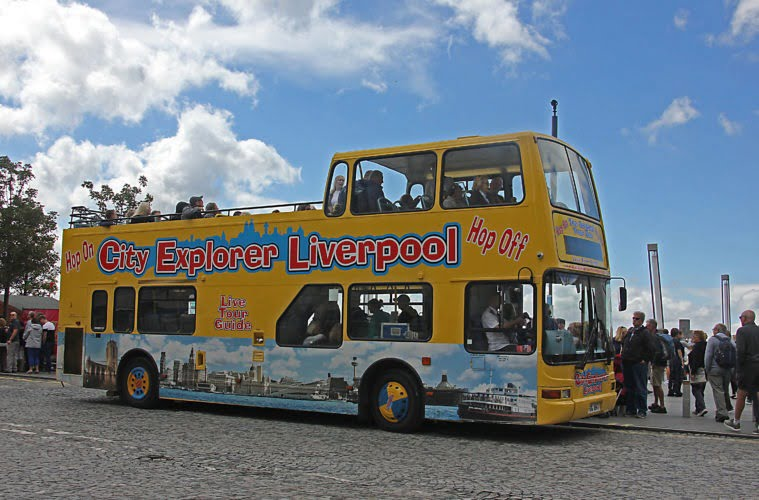 City Explorer Bus Liverpool