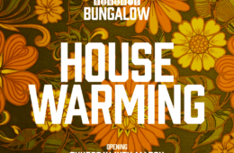 Bongo's Bungalow - opening Thurs 14th March