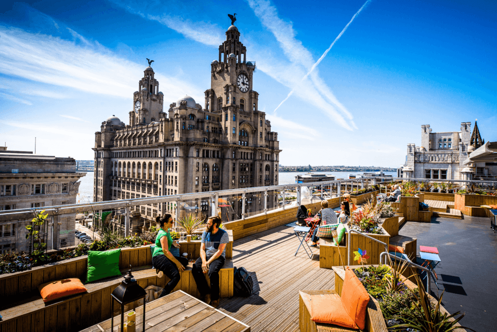 OhMeOhMy Rooftop Liverpool